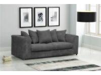 FABRIC/CRUSH VELVET SOFA LUXURY SOFA *DYLAN*CHEAPEST PRICE 3+2/Corner sofa 40234