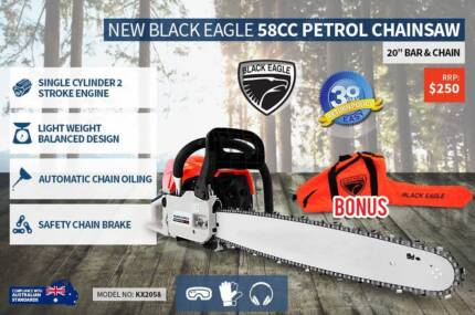 chain saw black eagle Nerang Gold Coast West Preview