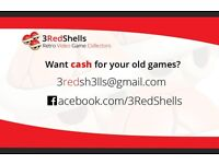 Searching for retro video games (All Areas of Glasgow)