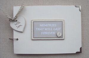 PERSONALISED MEMORIES..A5 SIZE... PHOTO ALBUM/SCRAPBOOK/MEMORY BOOK