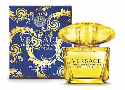 Versace Yellow Diamond Intense 3.0 oz/90 ml EDP Spr for Women - New in Box