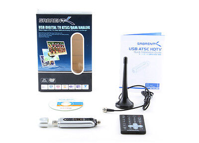 TV Tuner Dual ATSC/Digital HDTV with Remote Control/Antenna (TV-USBHD) Sabrent