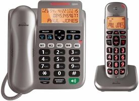 Combo Big Button Telephones & Answering Machine