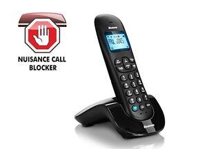 Binatone Vesta 1305 Cordless Phone Digital Single Call Blocker Landline