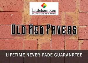 OLD RED CLAY PAVERS - Available now! - LOCALLY MADE IN SA Adelaide CBD Adelaide City Preview