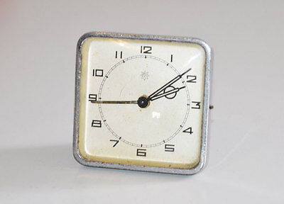 Orologio da Incasso da Tavolo o Mobile JUNGHANS con Sveglia Anni '40 da rev. 802