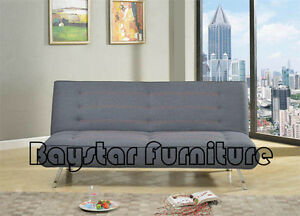 Brand New Bed Convertable,Linen Fabric,Highly Practical Sofa Bed Melbourne CBD Melbourne City Preview