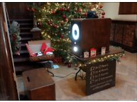 Vintage Photo Booth Hire for Christmas Parties, Weddings and Events