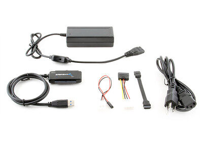 Sabrent USB 3.0 TO SATA/IDE 2.5/3.5/5.25-INCH Hard Drive Con