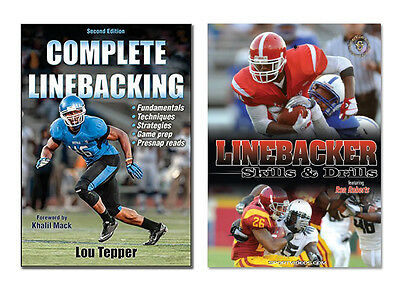 Linebacker Football Instructional Book and DVD - Free Shipping