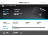 Samsung 850 EVO 250 GB 2.5 inch Solid State Drive - Black