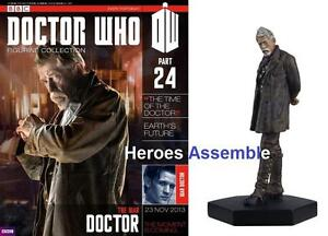 OFFICIAL DOCTOR WHO FIGURINE COLLECTION #24 WAR DOCTOR NEW EAGLEMOSS (22 23)