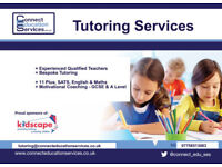 Tutoring Services - Experienced Qualified Teachers, Bespoke Tutoring and Coaching.