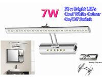 7W 36 x 5050 LEDs Mirror Light Reading Book Fixture Spot Lamp Bedroom Bedside Bathroom Corridor Wall