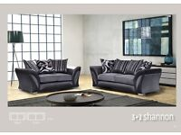 BRAND NEW GENUINE DFS LUXURY FABRIC 3+2 SEATER SOFA SUITE, Also available in Left & Right Arm Corner