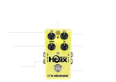 Tc Electronic Helix Phaser Guitar Pedal   Toneprint Enabled  Ships Free U S