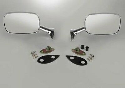"""Used, 1975 - 1979 Corvette C3 Chrome Outside Large (6.25""""x3.5"""") Rearview Mirror-Set for sale  Shipping to Canada"""