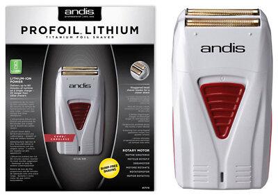 Andis Profoil Lithium Titanium-ION Cord/Cordless Barber Foil Shaver