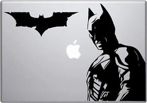 Batman decal - Dark Knight Batman MacBook / laptop vinyl car / window sticker
