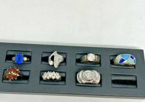 Sterling Silver Ring Lot With 7 Rings (Sizes Vary On The Rings)