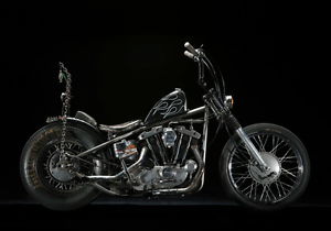 Harley Davidson Ironhead sportster chopper North Melbourne Melbourne City Preview