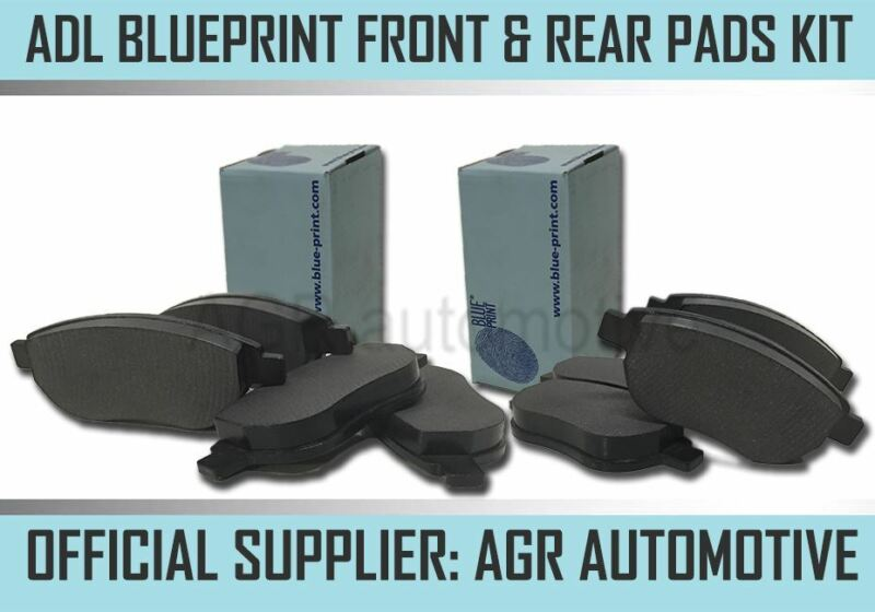 BLUEPRINT FRONT AND REAR PADS FOR LEXUS LS460 4.6 AWD 2008-