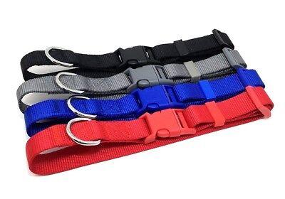 Adjustable Dog Clip Collar - NEW NYLON SMALL ADJUSTABLE DOG CLIP COLLAR 3/4 INCH