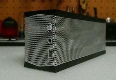 Jawbone Jambox Mini Wireless Bluetooth Limited Edition Black & Silver Speaker