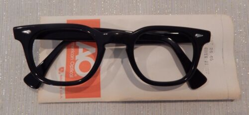 Vintage American Optical HYBRID Stadium Black 46/24 Men