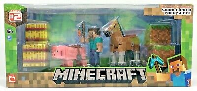 Minecraft Overworld Saddle Pack Series No 2 New Sealed
