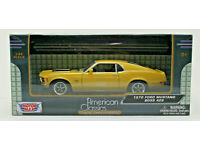 yellow 1:24  Motormax 1970 Ford Mustang Boss gelb