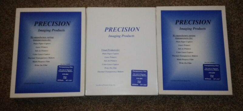 300 sheets Precision Overhead Transparency Film Paper/ overhead projector/ 3 Bxs