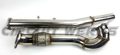 "Audi S3 MKI 99-03 1.8T TT Quattro Stainless Steel 3"" Turbo Exhaust Downpipe 20V"