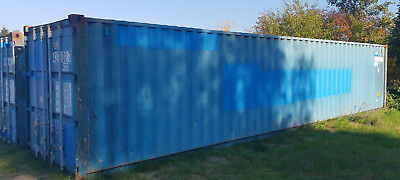 40 Fuss - GP´ Stahl Container Lagercontainer Seecontainer gültige CSC mit Prefix