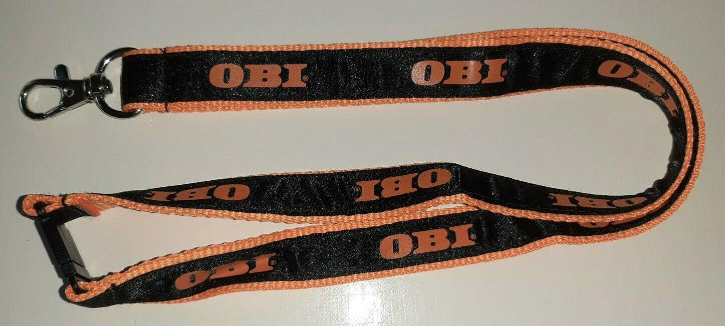 OBI Baumarkt Schlüsselband Lanyard NEU (M64)