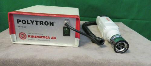 Kinematica AG Polytron PT 1200 Handheld Homogenizer W/Power supply PT-1200C
