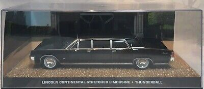 1965 Lincoln Continental Stretch Limo James Bond 007 For Your Eyes Only 1/43