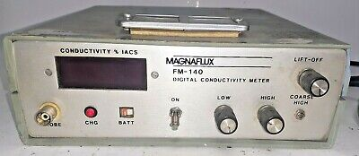 Magnaflux Fm-140 Digital Conductivity Meter