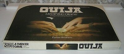 OUIJA Board Game William Fuld Board Set Parker Brothers 1972 - EUC