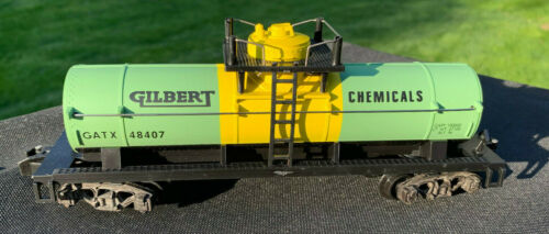 AMERICAN FLYER GILBERT CHEMICAL 1-DOME TANKER, MINT IN BOX! {6-48407}... $59.95