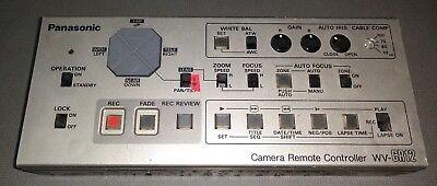 Panasonic Security Camera Controller Wv-cr12 - Remote Ptz Control