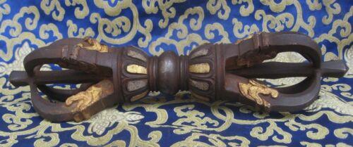 Antique Master Quality Handmade Iron Tibetan Vajra, Dorji, Nepal