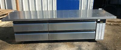 97 Silver King Skrcb97h Extended Top Refrigerated Chef Base