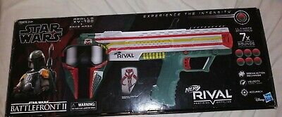 Nerf Rival Star Wars Battlefront II nerf Apollo XV-700 + Face Mask NIB