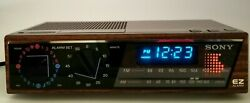 Vintage/Retro Sony EZ-4 Dream Machine AM FM Digital Alarm Clock Radio Tested EUC