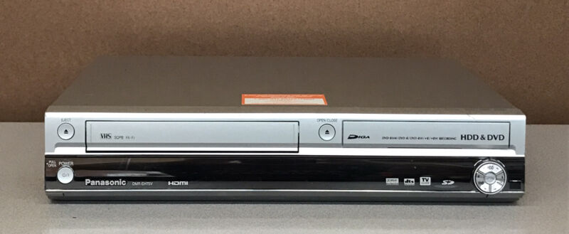 Panasonic DMR-EH75V HDMI DVD Recorder HDD VCR Combo  *No Remote*