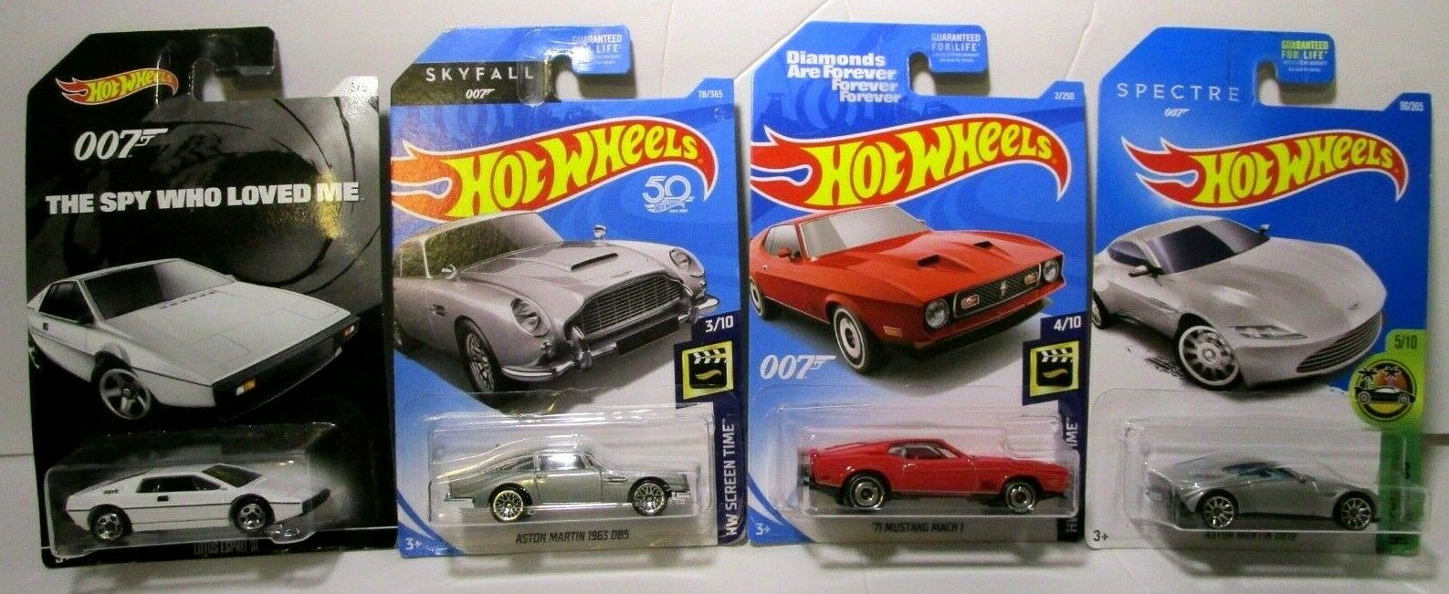 Hot Wheels, 2015 Exclusive James Bond 007, Diamonds Are Fore