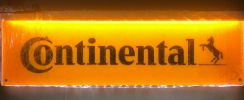 Continental Tires Double Sided LED Lighted Shop Dealer Gas Station Sign NEW