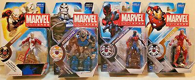 Marvel Universe Apocalypse, Spider-Man 2099, Guardian & Modular Armor Iron Man