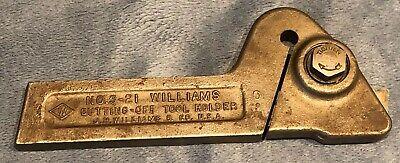 Williamsarmstrong No. S-21 Turning Latthe Tool Holder